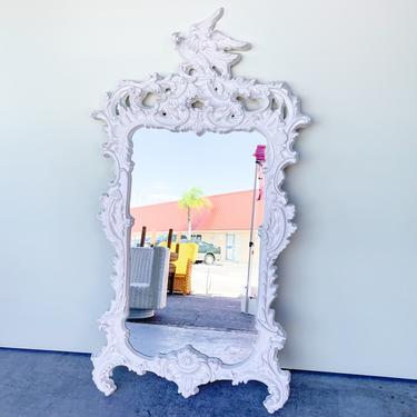 Palm Beach Chinoiserie Rocco Style Mirror