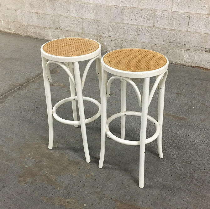 LOCAL PICKUP ONLY ———— Vintage Bentwood Stools by RetrospectVintage215