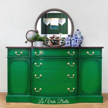 Classic Duncan Phyfe Style Buffet by LaVidaBellaDesign