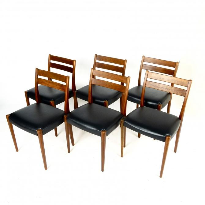 Set of 6 Swedish Teak Dining Chairs