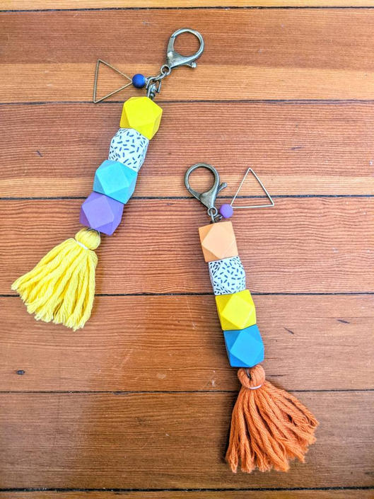 Tassel Keychains by BTvintageclothes