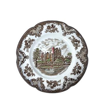 Johnson Bros Old Britain Castles Dinner Plate-Brown by FunkyRelic