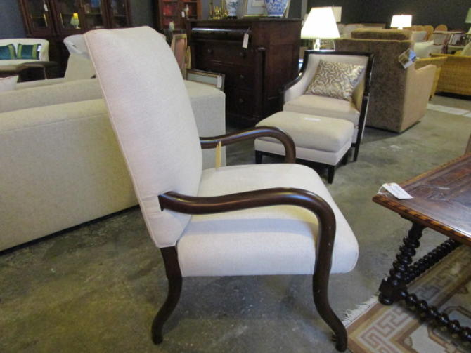 PAIR PRICED SEPARATELY NEW ARM CHAIRS