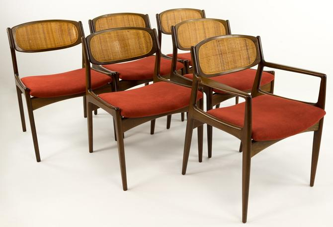 Kofod Larsen for Selig Mid Century Modern Dining Chairs - Set of 6 - mcm by ModernHill