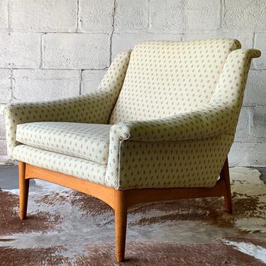 Mid Century MODERN Armchair / Lounge Chair, Made in Norway by CIRCA60