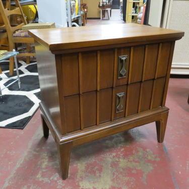 Vintage Mid century Walnut side table/night stand