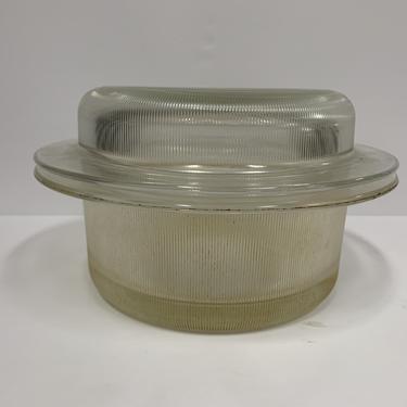 Heller glass bakeware 2QT. covered casserole dish