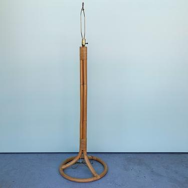 Island Chic Bamboo Floor Lamp