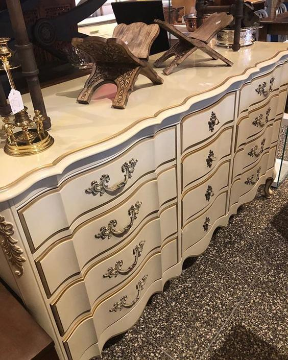 Faux French dresser