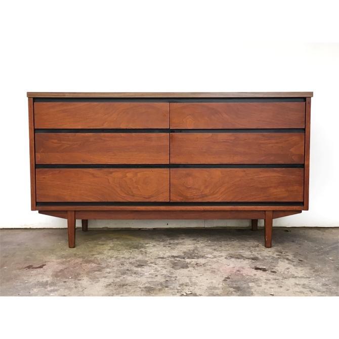 Mid Century Long Dresser