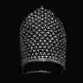 RARE!! 1920s Headpiece / 20s Showgirl Super TALL Rhinestone Tiara Headdress / 1910s /  Kokoshnik by GuermantesVintage