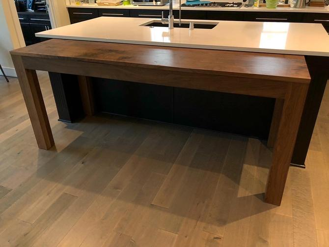 Parson's Style Walnut Dining Table (Built to Order Read Full Description) by MathesonWoodwork