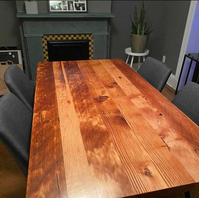 Industrial Table. Kitchen Table. Dining Table. Reclaimed Wood Table. Rustic Table. Conference Table. Thanksgiving. Reclaimed Wood Desk. by UrbanIndustrialNW