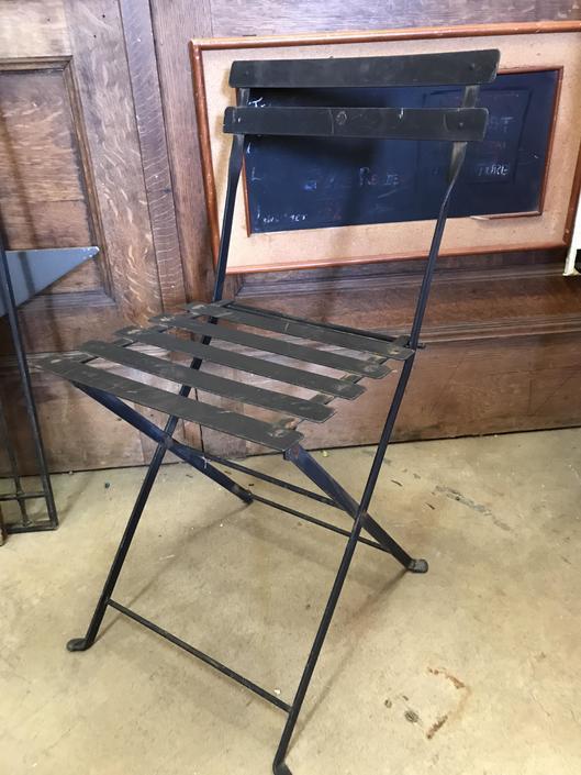 Cute Metal Folding Chair