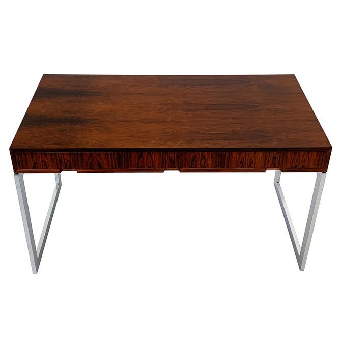 Milo Baughman Rosewood Desk