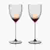 Gorman White Wine Set 2pc   Amber