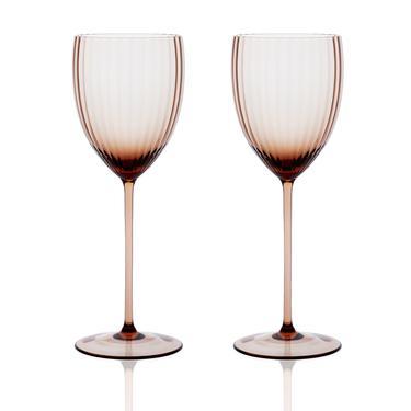 Gorman White Wine Set 2pc | Amber