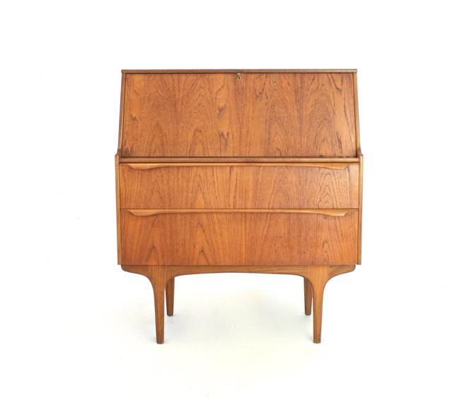 Mid Century Desk/Bureau by Sutcliffe of Todmorden by SputnikFurnitureLLC