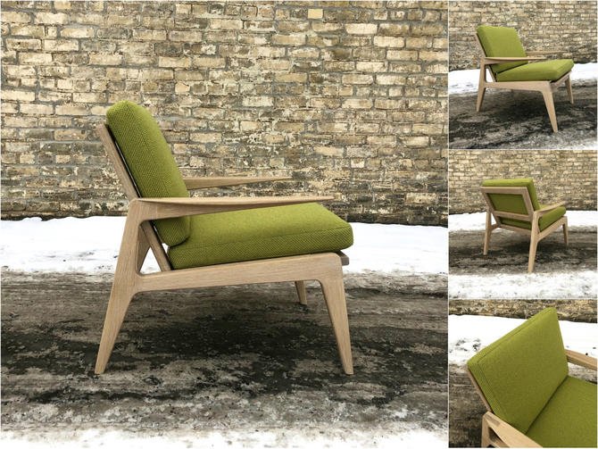 Hand-crafted Mid-century Style Chairs
