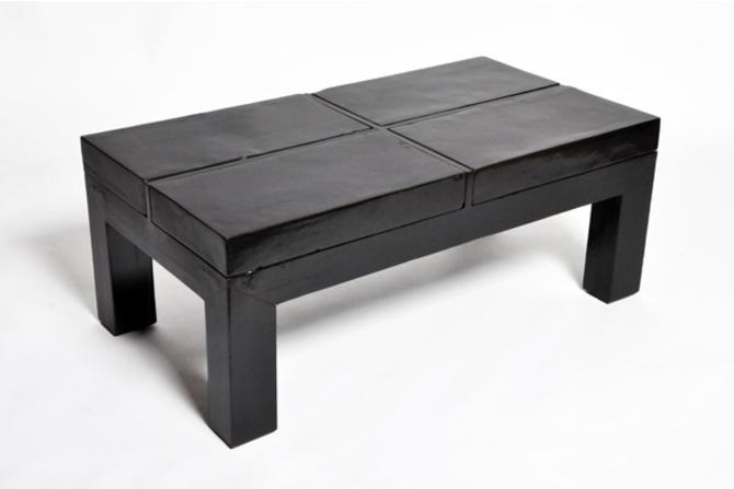 Chinese Terra Cotta Tile Coffee Table