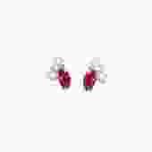 Birthstone Studs: Ruby (July)