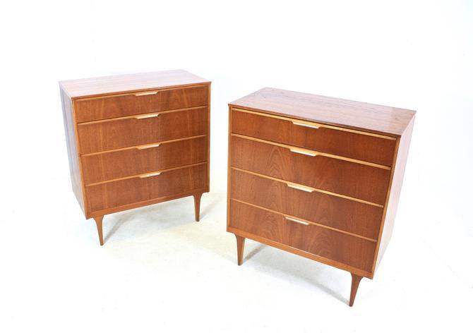 Pair of Teak Dresser/Nightstands by Austinsuite by SputnikFurnitureLLC