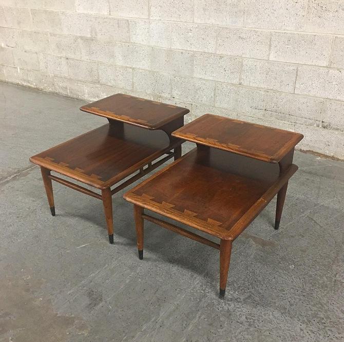 LOCAL PICKUP ONLY —————- Vintage Lane End Tables by RetrospectVintage215