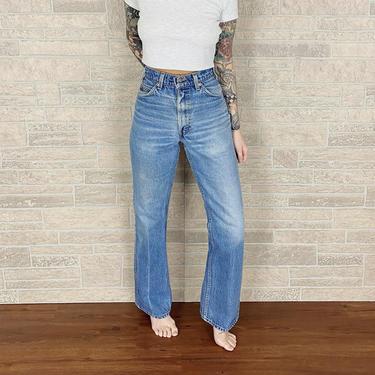 Levi's 517 Orange Tab Jeans / Size 29 30 by NoteworthyGarments