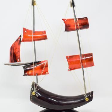 Vintage Horn Boat by CapitolVintageCharm
