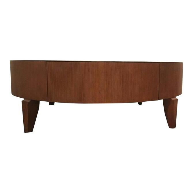 Barbara Barry for Henredon Reeded Cocktail Table