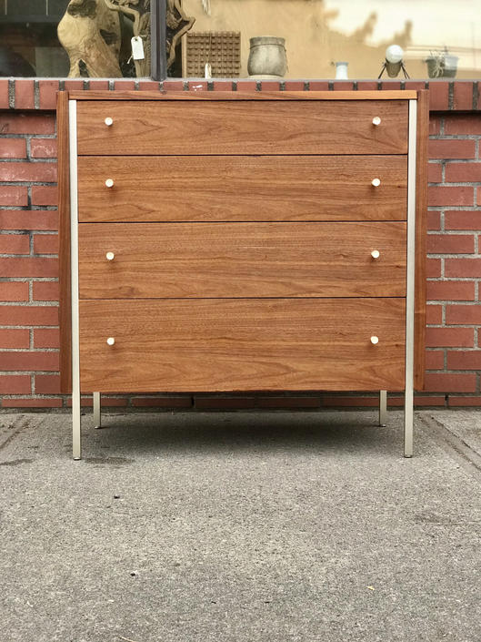 Free and insured shipping within US - Vintage Dresser Cabinet Storage Drawer by Mengel by BigWhaleConsignment