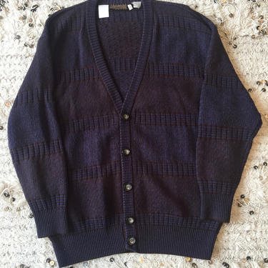 Vintage FENDI Unisex Zucca FF Monogram Cardigan Grandpa Sweater Jumper Shirt Blouse Top Xl / XXL by MoonStoneVintageLA