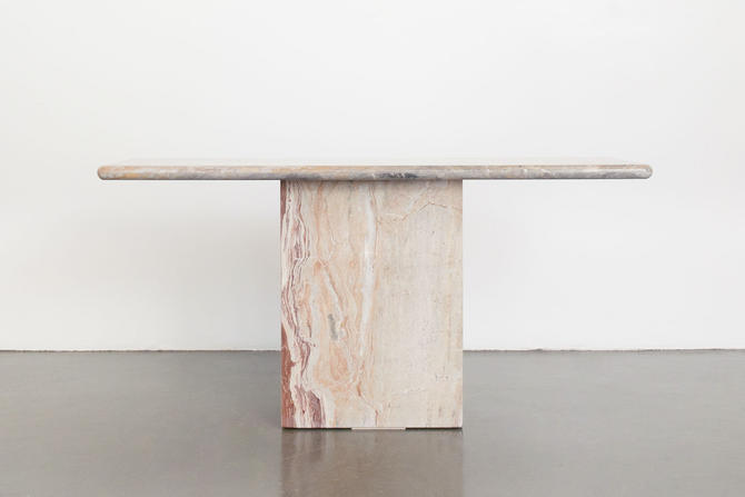 Marble Console Table by HomesteadSeattle