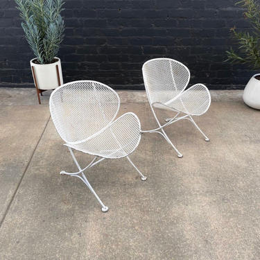 Mid-Century Modern Patio Lounge Chairs by Maurizio Tempestini for Salterini, c.1950's by VintageSupplyLA