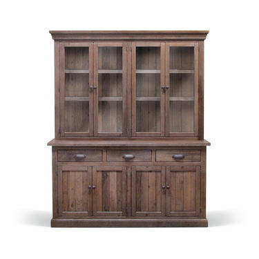 Sideboard, Hutch, Cupboard, Buffet, Reclaimed Wood, China Cabinet, Farmhouse, Rustic, Handmade by VintageMillWerks