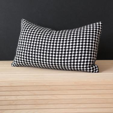 Honeycomb Noir Lumbar Pillow