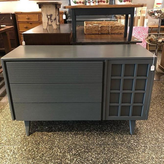 Awesome grey MCM dresser just in! $495