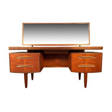 "Vintage British Mid Century Modern Teak ""Fresco"" Vanity and Mirror by G Plan by AymerickModern"