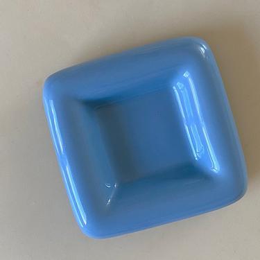Small Haeger Blue Square Dish