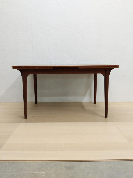 Vintage Danish Modern Teak Dining Table by Omann Jun. by FarOutFindsNYC