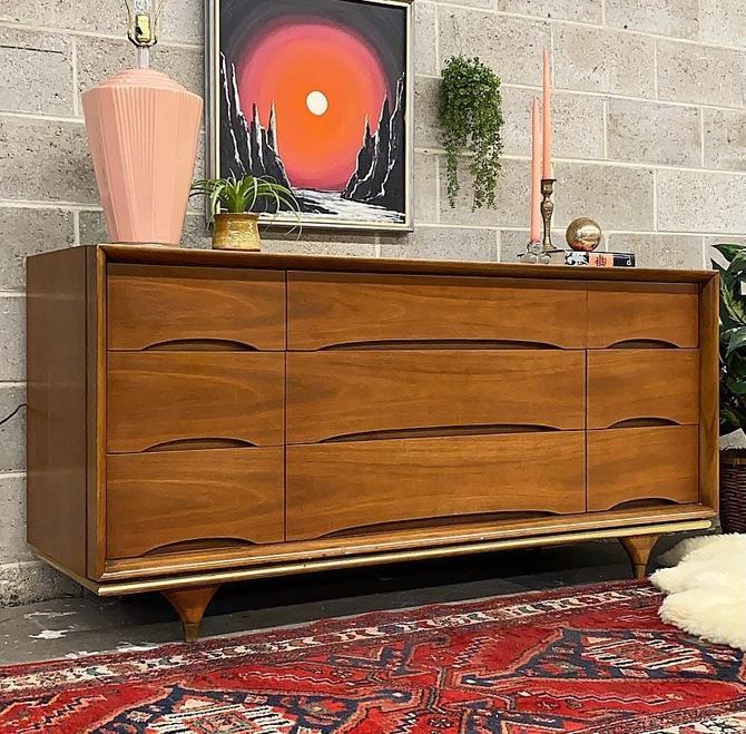 LOCAL PICKUP ONLY ———— Vintage Kent Coffey Dresser by RetrospectVintage215