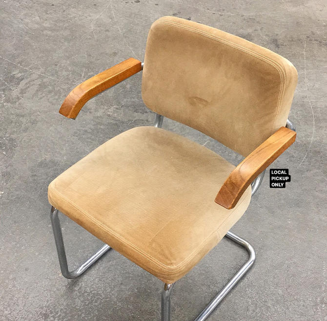 LOCAL PICKUP ONLY ———— Vintage Campaign Chair by RetrospectVintage215