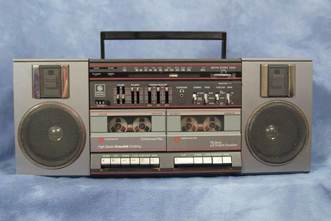Image result for 1980s ghetto blaster