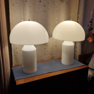 Atollo Glass Table Lamps by OMGaudyLA