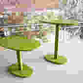 Pair of height adjustable 'Lunatique' tables by Inga Sempe for Ligne Roset