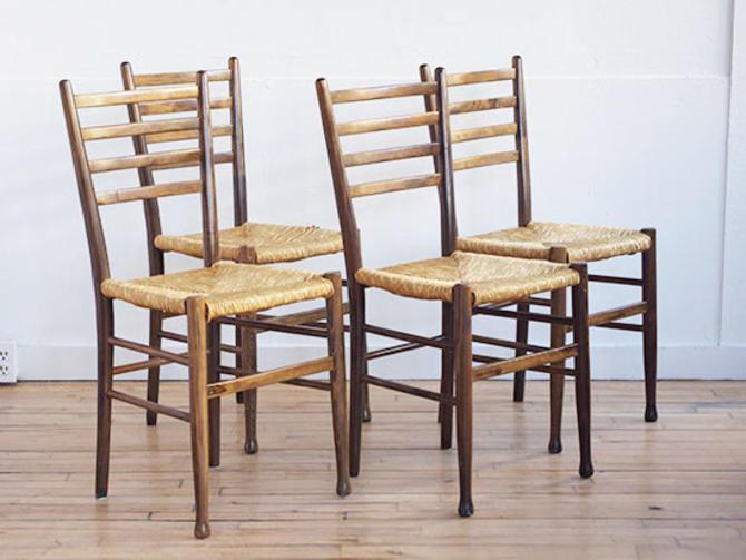 Set 4 Gio Ponte Side Chairs