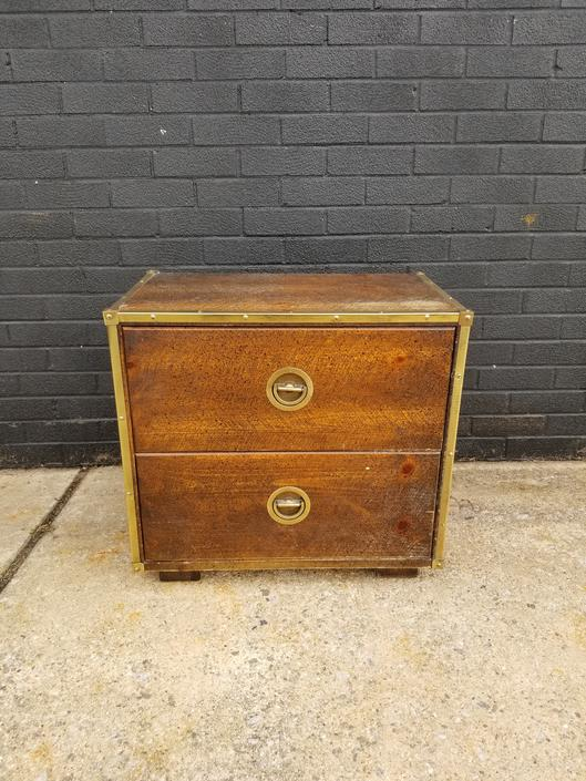 1970s Basset Furniture Campaign style side table