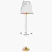Laurel Floor Lamp Brass Floor Lamp Mid Century Modern by HearthsideHome