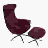 Hjellegjerde's Baloo Chair & Ottoman by Olav Eldoy for Theodore's