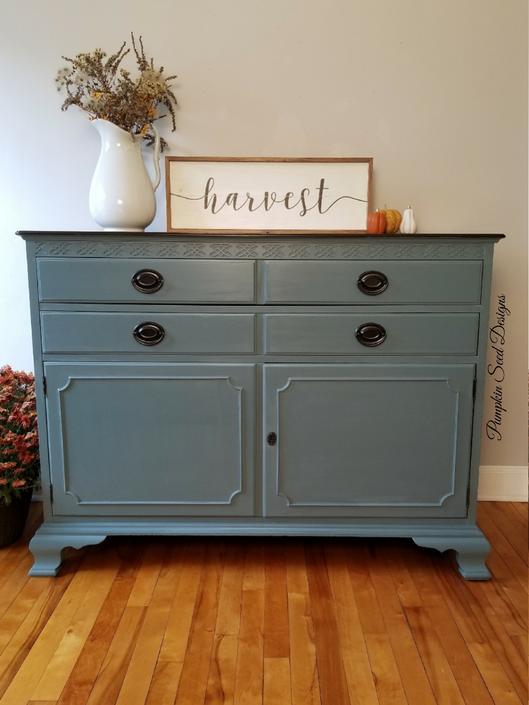 Nantucket Blue Buffet